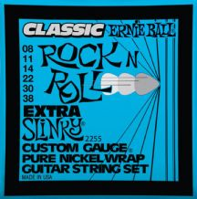 Ernie Ball 2255 Classic Rock n Roll Extra Slinky Guitar strings